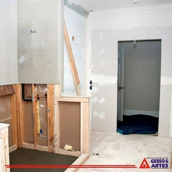Gesso Apartamento Além Ponte - Gesso 3d