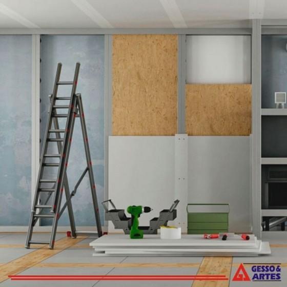 Onde Encontro Forro de Gesso Acartonado Drywall Recreio dos Sorocabanos - Forro de Gesso Tabicado