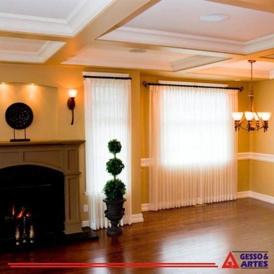 Onde Vende Sanca de Gesso Apartamento Wanel Ville - Sanca de Gesso Invertida