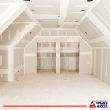 divisória de gesso drywall para quarto Zona Industrial