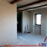 onde comprar parede de drywall montagem Além Linha