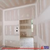 parede de drywall área externa Jardim Ipiranga