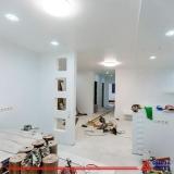 parede de drywall com azulejo