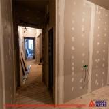 parede de gesso para quarto