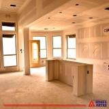 valor de parede de drywall para banheiro Granja Olga